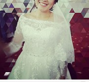 Срочно продам свадебное платье!